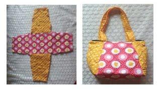 10  मिनट   में  बनाऐ Easy  Handmade Bag Ll Market Bag Ll Lunch Bag Ll Bag Banana / #ShreeBhagwati
