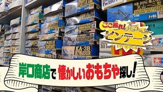 岸口商店で懐かしのおもちゃさがし!【ここ掘れ!ビンテージ】