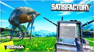 Attacking The Planets Alien Lifeforms For Research Purposes! (Satisfactory #3)