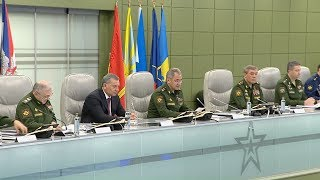 Видео: Единый день приемки военной продукции под руководством Сергея Шойгу (12.04.2019)