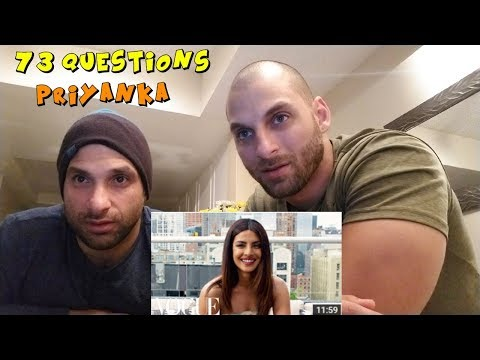 73 Questions With Priyanka Chopra | Vogue [REACTION]