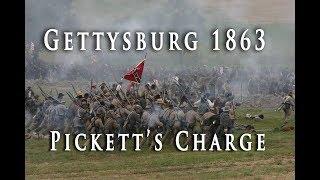 Civil War 1863 - Gettysburg Pickett's Charge