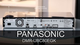 Panasonic DMR-UBC80 - Thomas Electronic Online Shop - DMRUBC80 - DMR-UBC80EGK - UBC80