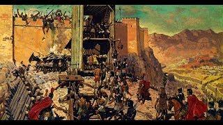 Крепость Масада в Израиле. Осада крепости Масада