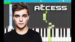 Martin Garrix - Access PIANO Tutorial EASY (Piano Cover)