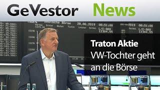 Volkswagen-Tochter Traton holpert an die Börse