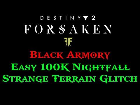 Easy 100k nightfall glitch - Destiny 2 forsaken - смотреть онлайн на