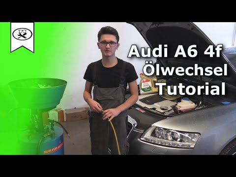 Audi A6 4F 3.0 Öl Wechseln  |  Change oil  |  VitjaWolf  | Tutorial  |  HD
