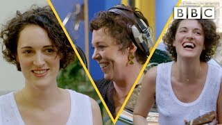 Phoebe Waller Bridge Slays The Ukulele On Olivia Colman's Portishead Cover   BBC
