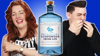Irish People Try Gunpowder Irish Gin For The First Time