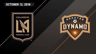HIGHLIGHTS: Los Angeles Football Club vs. Houston Dynamo | October 12, 2018