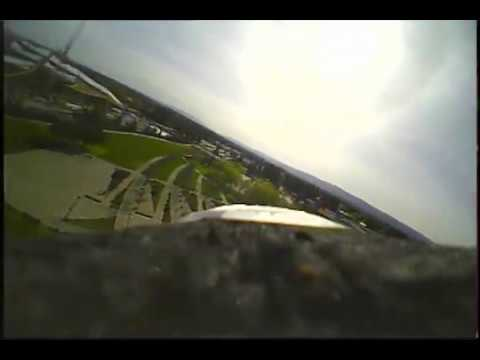 XK X520 FPV flight with Eachine EV800D Goggles from Banggood