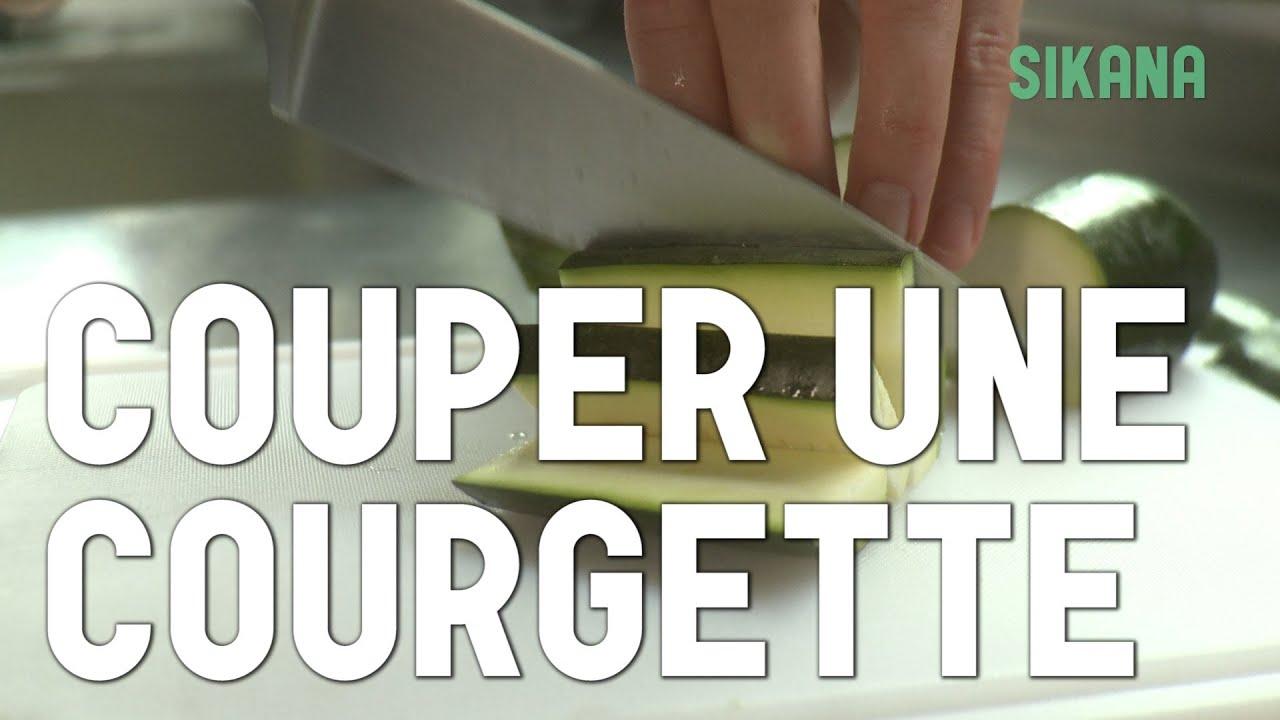 Couper une courgette apprendre cuisiner les l gumes sikana - Comment couper une courgette ...