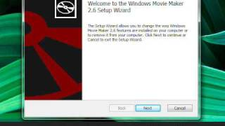 Установка Windows Movie Maker