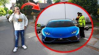 "Police towed my Lamborghini for a ""joke"""