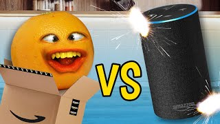 Annoying Orange vs Amazon Alexa! (ft. Rebecca Parham)