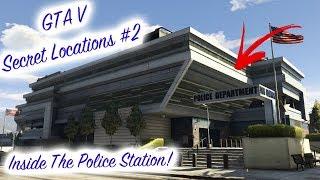 Inside The Police Station! - GTA 5 Secret Locations #2