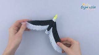 """Набор для творчества ЗD оригами """"Орел"""" 231 модуль от компании Интернет-магазин """"Радуга"""" - школьные рюкзаки, канцтовары, творчество - видео"""