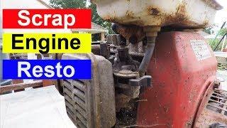 Scrap Honda Engine Restoration Will It Run Again