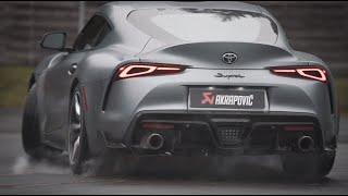 Akrapovič Titanium Exhaust: Toyota Supra (A90)