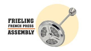 Frieling French Press Assembly Instructions and Parts