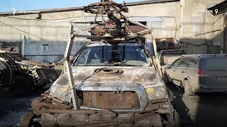 Фотограф и автомеханик из Сибири создаёт постапокалиптические автомобили | Сибирь.Реалии