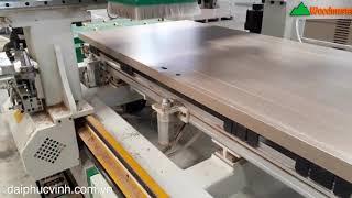 MÁY ĐỤC Ổ KHOÁ CỬA CNC HOLZTEK D2400 phần 1
