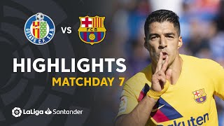 Highlights Getafe CF vs FC Barcelona (0-2)