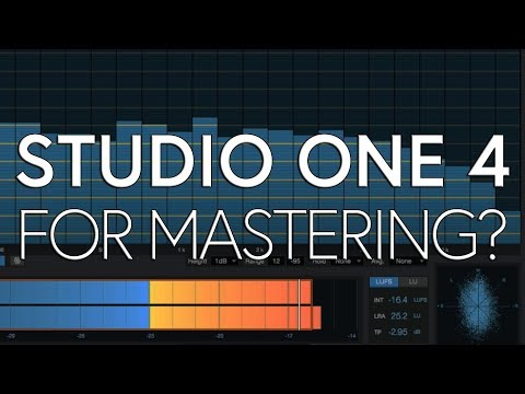 Why I Switched to Studio One for Mastering | STUDIO ONE 4