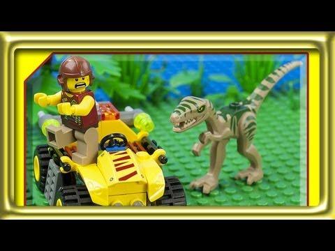Vidéo LEGO Dino 5882 : L'embuscade du Cœlophysis