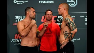 UFC Hamburgo: Todas as encaradas da pesagem
