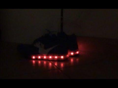 Blinkende Schuhe