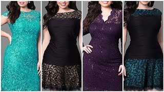 Top Trending New Arrival Plus Size Christmas Party Outfits Ideas And Designing Christmas Middi Dress