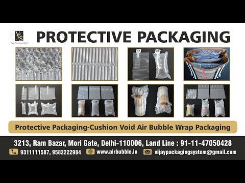 Air Tube Protective Cushion Bags for Toner Cartridges