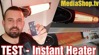 MediaShop.TV - Livington Instant Heater | Ausführlicher Test | Bewegungssensor & Timer | Infrarot