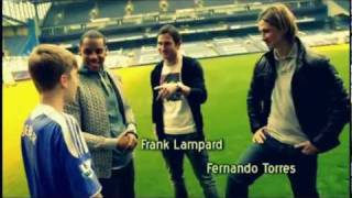 Фернандо Торрес, Justin Bieber - Meets Frank Lampard & Fernando Torres (Soccer match)