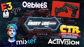 AJS News - Video Games BLAMED, E3 Data Breach, Ninja LEAVES Twitch, Ooblets Oopsie, Activision Lies!
