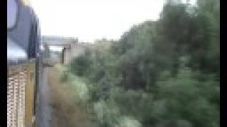 preview picture of video 'Rothley To Leicester North Behind Class 37  37314 Dalzell With Lineside Fire'