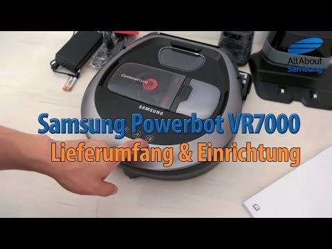 Samsung Powerbot VR7000 Saugroboter - Unboxing und Einrichtung [Teil 1]