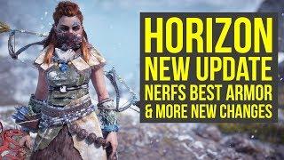 Horizon Zero Dawn New Update NERFS BEST ARMOR & More New Features & Fixes (Horizon Zero Dawn 1.46)