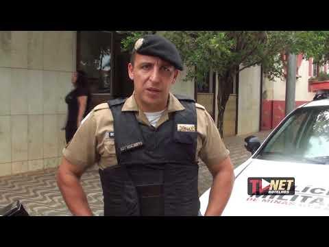 Sargento Adalberto Gonçalves fala sobre as explosões em agências bancárias de Botelhos