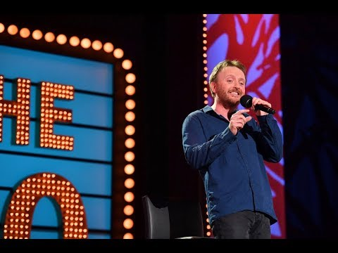 Hilarious blind stand-up comedian, Chris McCausland