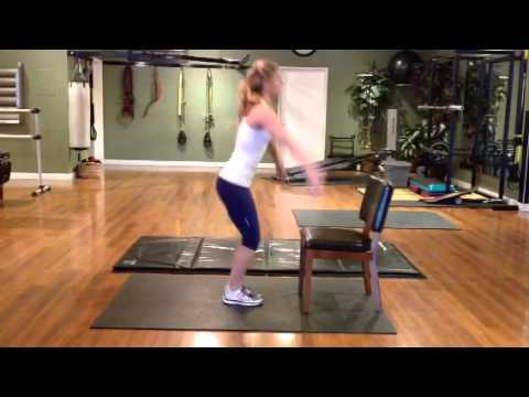 Burpees with Chair