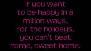 "The Carpenters- ""(There's No Place Like) Home for the Holidays"" with Lyrics"