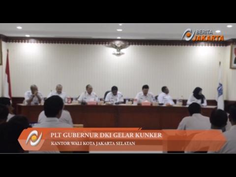 Sumarsono Kunker ke Kantor Wali Kota Jaksel