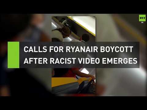Man launches racist rant on Ryanair flight