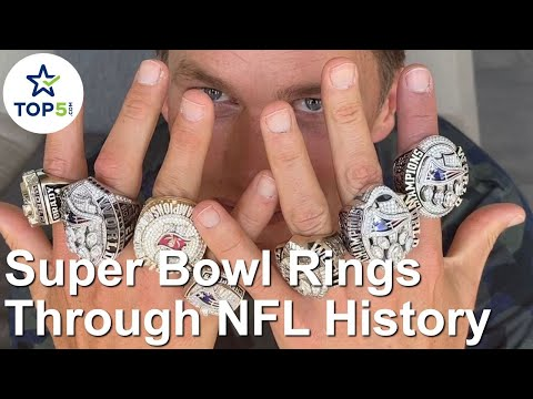 Super Bowl Rings Throughout the NFL History