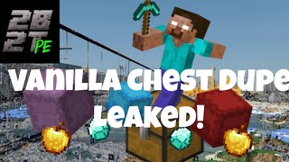 2b2tpe : Vanilla Chest Dupe Leaked!