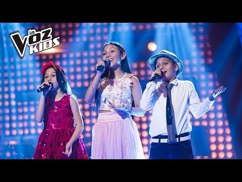 Thania Nayath, Robert Farid y Laura Doria cantan Un Millón de Primaveras – Batallas