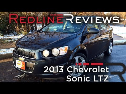 2013 Chevrolet Sonic LTZ  Review, Walkaround, Exhaust, & Test Drive